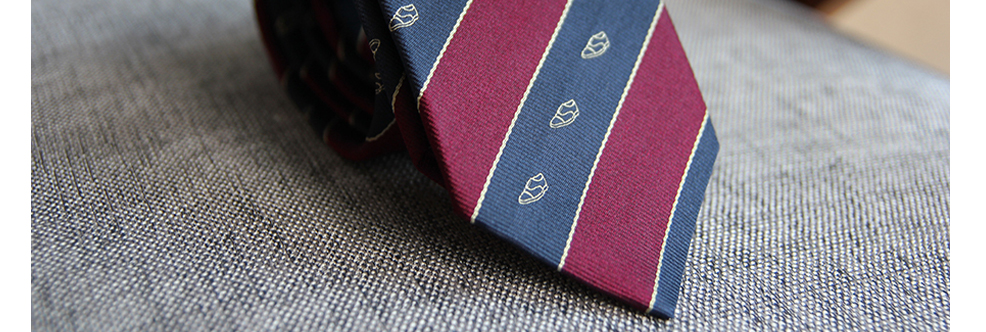 "Special tie ""Schoe in buttonhole"""